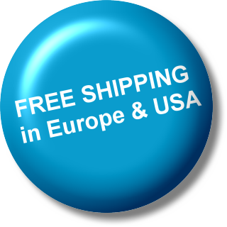 Free shipping in USA & Europe