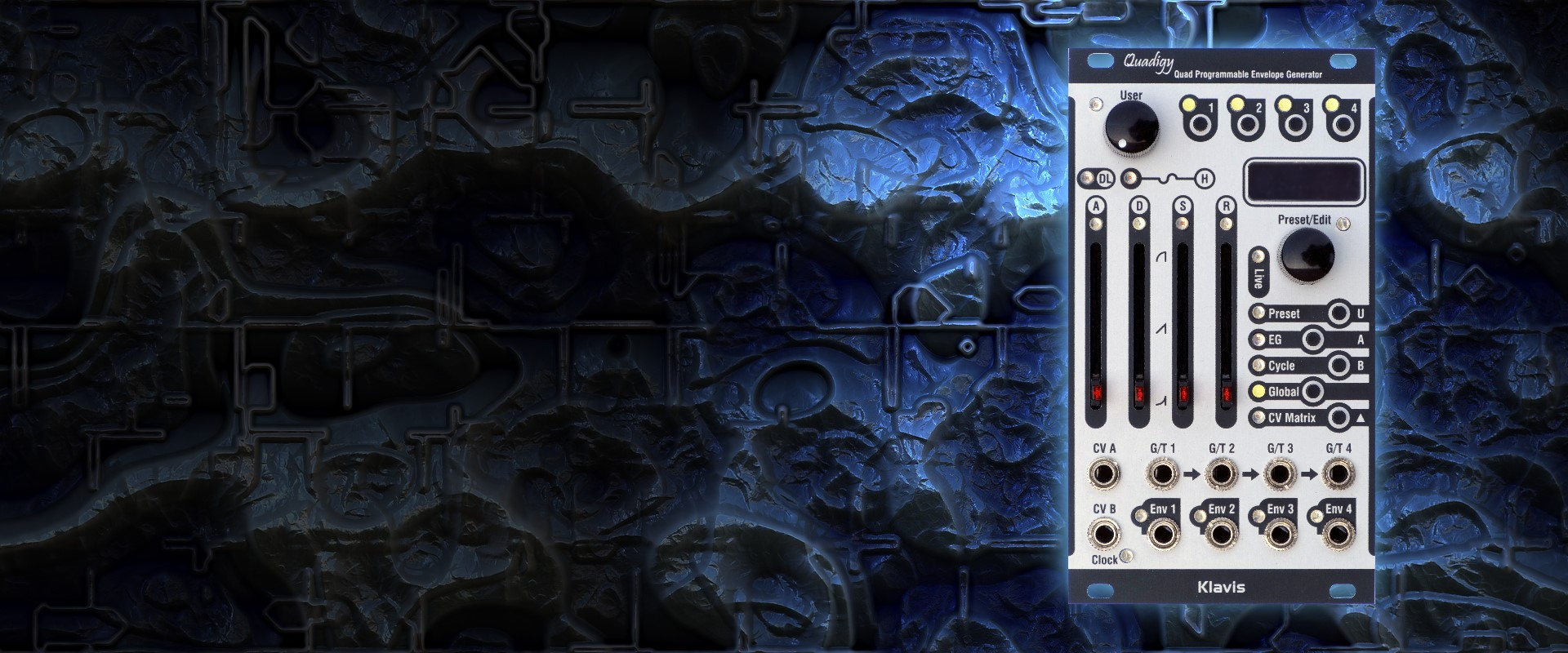 Klavis CalTrans Programmable Volt or Octave CV Calibrator /& Transposer Module